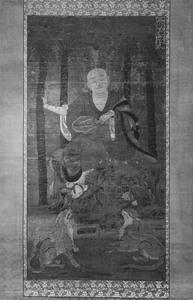 十六羅漢像(跋陀羅尊者)
