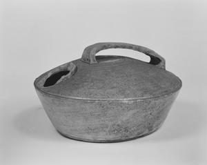 平瓶骨壺(壺阪寺奥院出土)