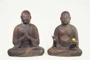 地蔵菩薩坐像及び龍樹菩薩坐像