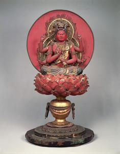 愛染明王坐像