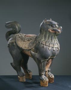 獅子(文殊菩薩像台座)