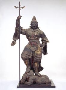 重要文化財 増長天立像 奈良国...