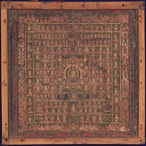 Womb World (J., Taizōkai; Skt., Garbhadhātu) Mandala