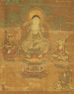 Mandala of the Lotus Sutra (J., Hokekyō Mandara)_1