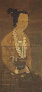Portrait of Ling Zhaonu (Reishōnyo)