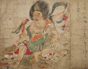 Tenkeisei, God of Heavenly Punishment, Extermination of Evil (J., Hekija-e)_4