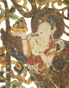"Keman (Pendant ornament in Buddhist sanctuary), No. 7 (""To"")_3"