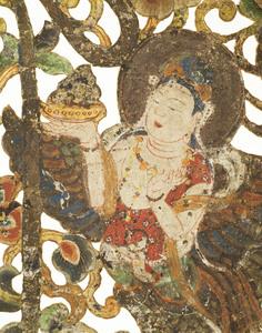 "Keman (Pendant ornament in Buddhist sanctuary), No. 7 (""To"")_3"
