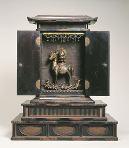 Feretory for enshrining Buddha's relics
