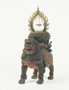 獅子座火焔宝珠形舎利容器_3