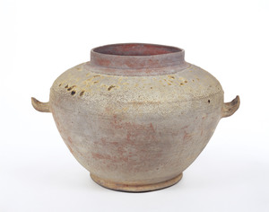 Cinerary urn (Excavated from the tomb of priest Dōyaku, Nara)_2