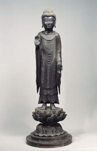 釈迦如来立像(清凉寺式)