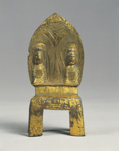 Two Seated Buddhas