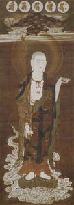 Kasuga Shrine Mandala with the Bodhisattva Jizō (Kṣitigarbha), (J., Kasuga Jizō Mandara)