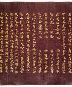 Konkōmyōsaishōō-kyō (Suvarṇaprabhāsottama-rāja-sūtra), Vol.10 (Kokubunji-kyō)_10