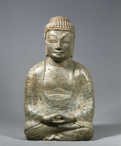 Maitreya (Excavated from sutra mound at Hachigatamine, Nagasaki)_4