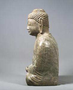 Maitreya (Excavated from sutra mound at Hachigatamine, Nagasaki)_5