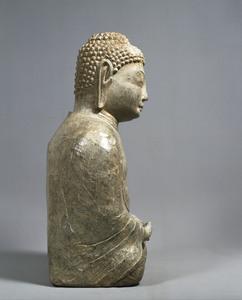 Maitreya (Excavated from sutra mound at Hachigatamine, Nagasaki)_3