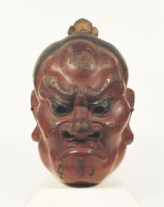 Gigaku Mask, Rikishi (Guardian)