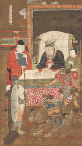 Ten Kings of Hell, Yanluo Wang (J., Enra Ō; Skt., Yamarāja)