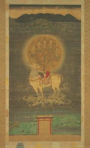 Kasuga Deer Mandala (J., Kasuga Shika Mandara)