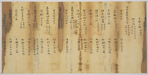 Record of the office for making Buddhist Implements