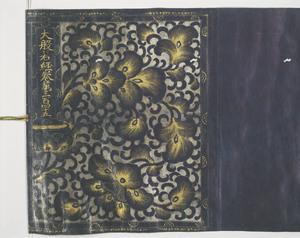 大般若経 巻第三百四十五(神護寺経)_2