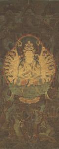 Thousand-Armed Kannon (Sahasrabhūja)