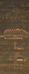 Mandala of Ikoma Shrine (J., Ikoma Miya Mandara)