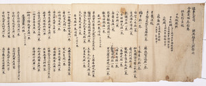 Official Letter from the Office for the Establishment of Tōdai-ji temple
