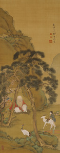 Jurōjin, Birds and Flowers