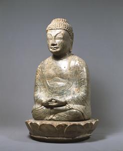 Maitreya (Excavated from sutra mound at Hachigatamine, Nagasaki)_6