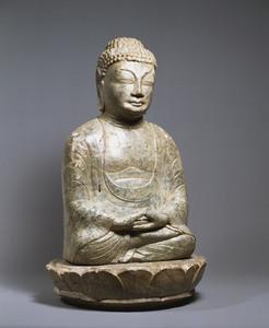 Maitreya (Excavated from sutra mound at Hachigatamine, Nagasaki)_7