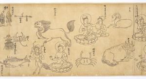 Iconographic Drawings of the Deities of the Womb World Mandala (J., Taizō Zuzō), Scroll 2_16