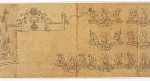 Iconographic Drawings of the Deities of the Womb World Mandala (J., Taizō Zuzō), Scroll 2_22