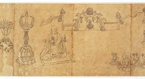 Iconographic Drawings of the Deities of the Womb World Mandala (J., Taizō Zuzō), Scroll 2_23
