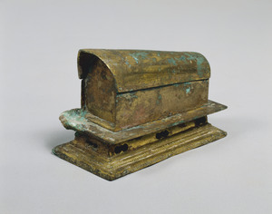 Coffin-shaped reliquary