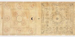 Iconographic Drawings of Various Deities for Goma (Five-Offering) Rituals (J., Daizuigu Mandara Shoson tō Zuzō)