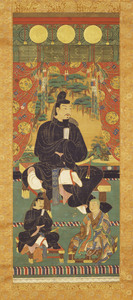 Portrait of Fujiwara Kamatari