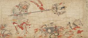 Sendan Kendatsuba (Cadana Gandharva), Extermination of Evil (J., Hekija-e)_1