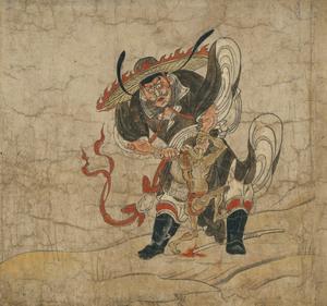 Shōki, The Demon Queller (Zhongkuei), Extermination of Evil (J., Hekija-e)_1