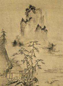山水図(水色巒光図)_2