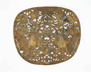 "Keman (Pendant ornament in Buddhist sanctuary), No. 1 (""I"")"