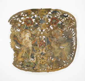 """Keman (Pendant ornament in Buddhist sanctuary), No. 4 (""""Ni"""")"""