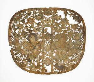 "Keman (Pendant ornament in Buddhist sanctuary), No. 10 (""Nu"")"