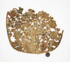"Keman (Pendant ornament in Buddhist sanctuary), No. 11 (""Ru"")"