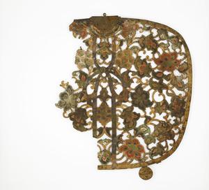 """Keman (Pendant ornament in Buddhist sanctuary), No. 12 (""""Wo"""")"""