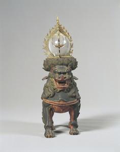 獅子座火焔宝珠形舎利容器_1