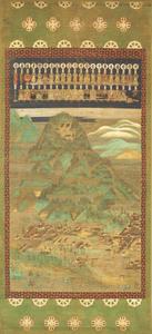 Mandala of Hie Sannō Shrine (J., Sannō Miya Mandara)
