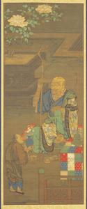 Seventh Rakan, one of Sixteen Rakan (Arhats)